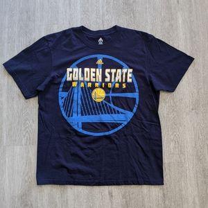 Adidas Men's Golden State Warriors Navy Tee SZ 2XL